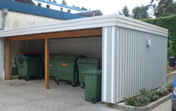Carport/Müllremise Fürst-von-Donnersmarck Stiftung